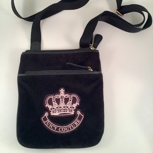 """JUICY COUTURE Crossbody Bag Embroidered """"Crown"""""""